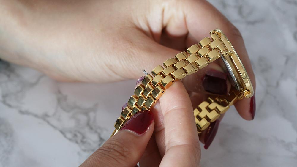 armband horloge kleiner maken