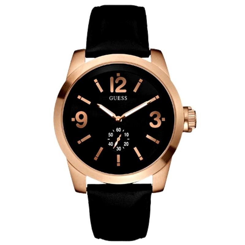 970e4c2b817a w13575g1 guess zoom oro rosa reloj hombre mejorofertarelojes